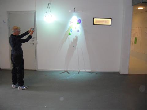 Lysarmatur med optiske lysfibre som lyskilde 3 Industrielt Design
