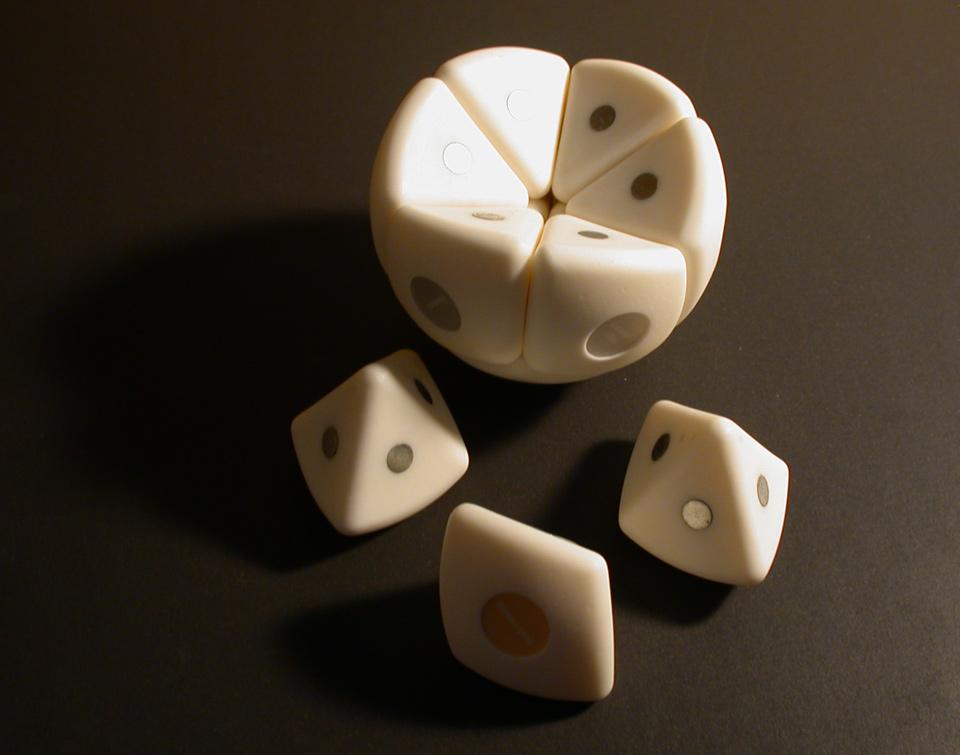 Industriel design støbt model med magneter