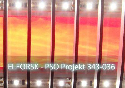 Hybrid Fiberbelysning 2 i forskningssamarbejde med Energistyrelsen, RUC, DTU Fotonik, Stevns Kommune