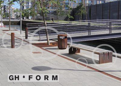 Design og konstruktion af GH Form Uderums inventar. Se det her.