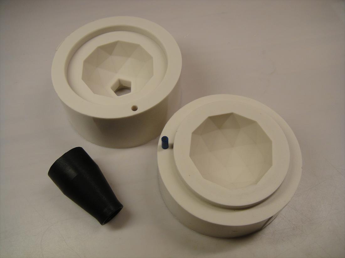 Gummi-form-produktudvikling og prototyper Industrielt Design
