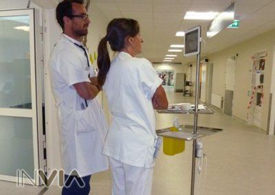 Dropbase hospitalsudstyr, et eksempel på design, konstruktion og prototypefremstilling.