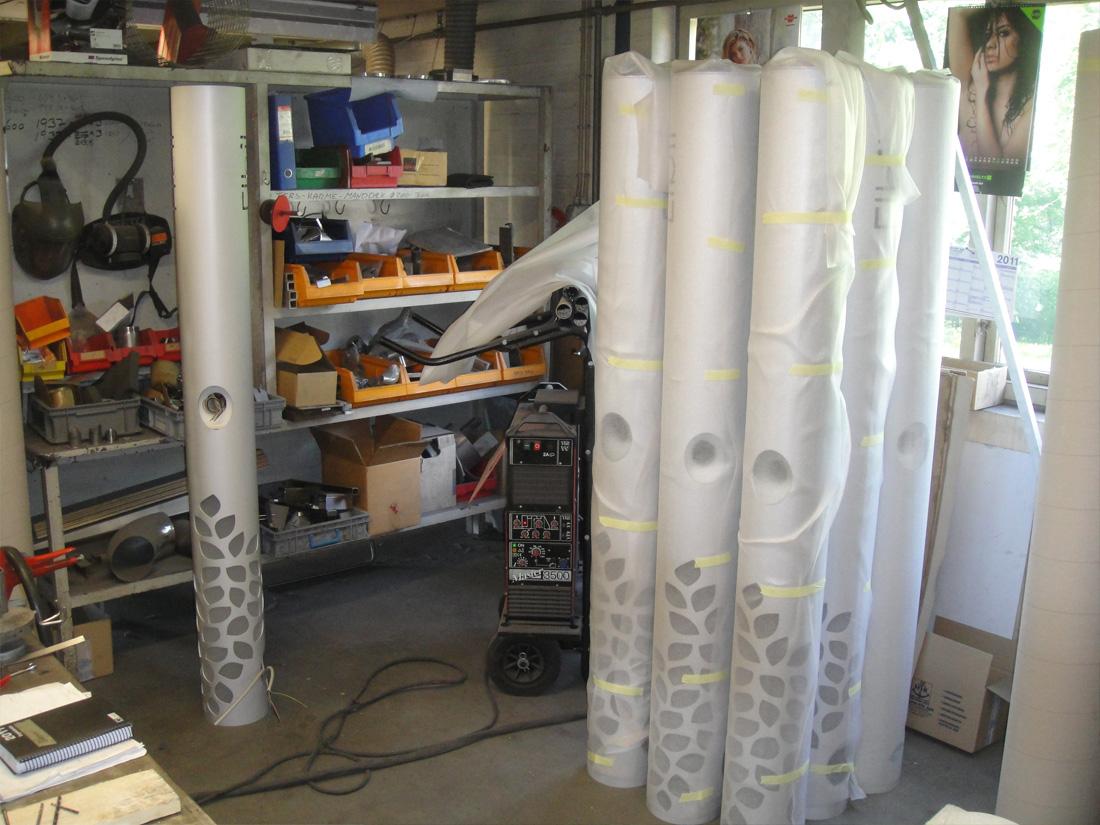 Produktudvikling og 0 serie af Kent Laursen Industrielt Design hos Larsens efterfølger i Kolding