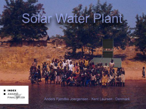 Solar Water Plant I samarbejde med Dr. Med. Anders Fjendbo Jørgensen