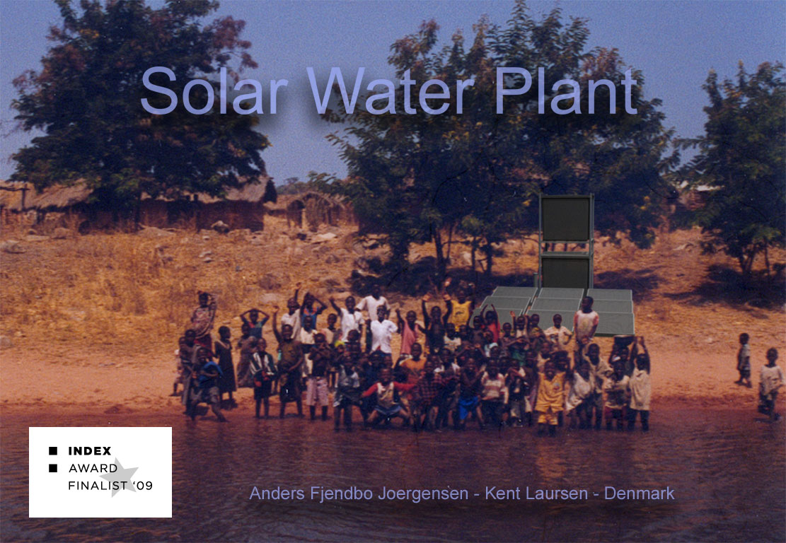 Solar-Water-Plant industrielt design