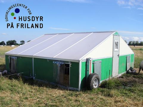 Design og konstruktion af Storhytter for Udviklingscenter for husdyr på friland