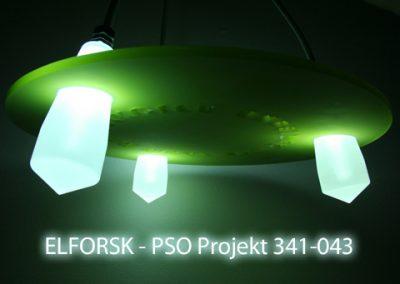 Hybrid Fiberbelysning i forskningssamarbejde med Energistyrelsen, RUC, DTU Fotonik, Designskolen Kolding