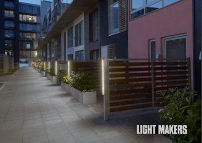 Design, konstruktion og prototyper for Lightmakers. Lys armatur til Sluseholmen. Se projektet, her.