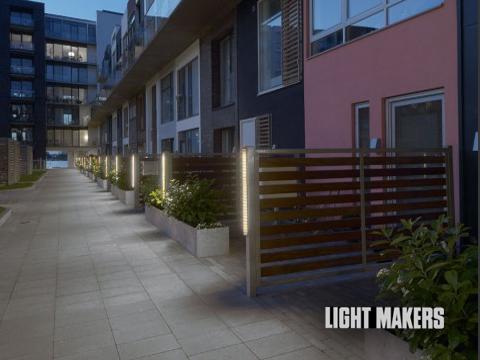 Lightmakers armatur til Sluseholmen