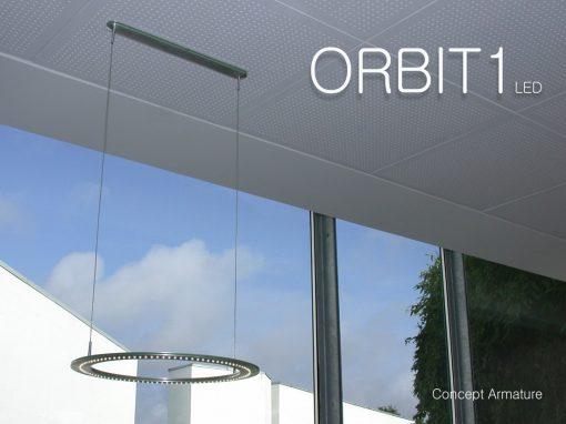 ORBIT 1 + 2 LED Armaturer