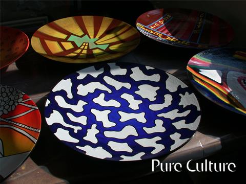 Illustrationer på fad serie for Pure Culture, se mere her.