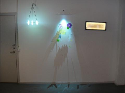 Lyslederforsøg Helle Trolle og Kent Laursen industrielt design