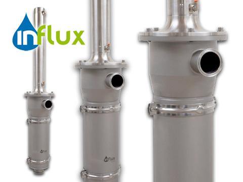 Konstruktion af kompensatorunit for Influx