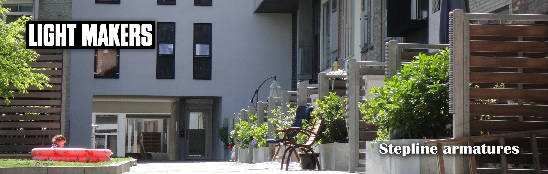 Design af Lysarmaturer til Sluseholmen af Kent Laursen i samarbejde med Lightmakers som var et firma under Louis Poulsen
