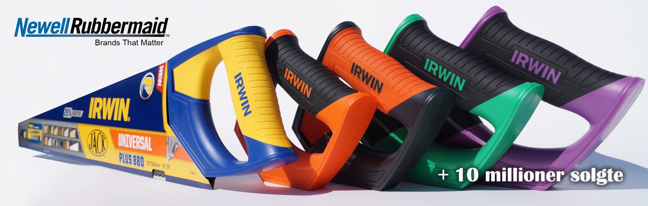Industrielt design og konstruktion af Irwin håndsav af Kent Laursen