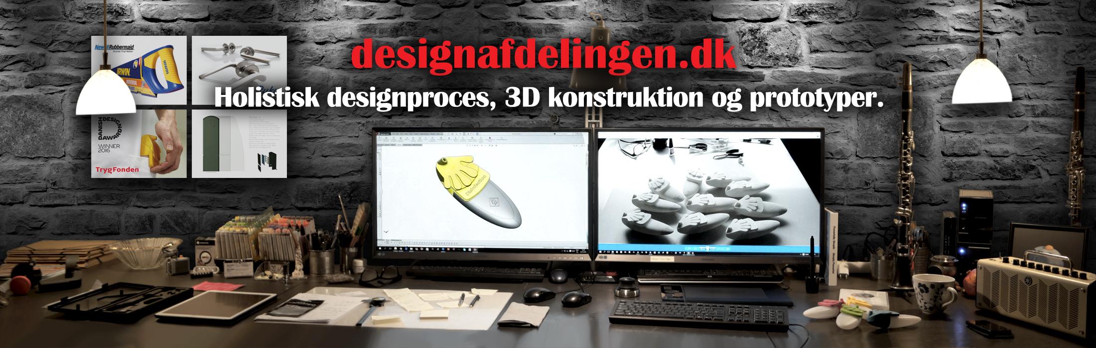 Holistisk design proces og produktudvikling 3d Konstruktion og prototyper