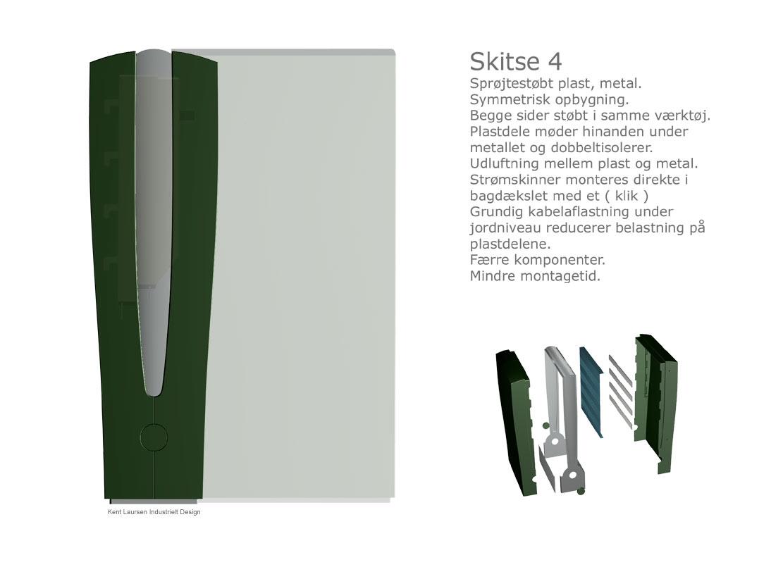 Produktudvikling-Koncept-Triax-Kabelskab Industrielt design 5