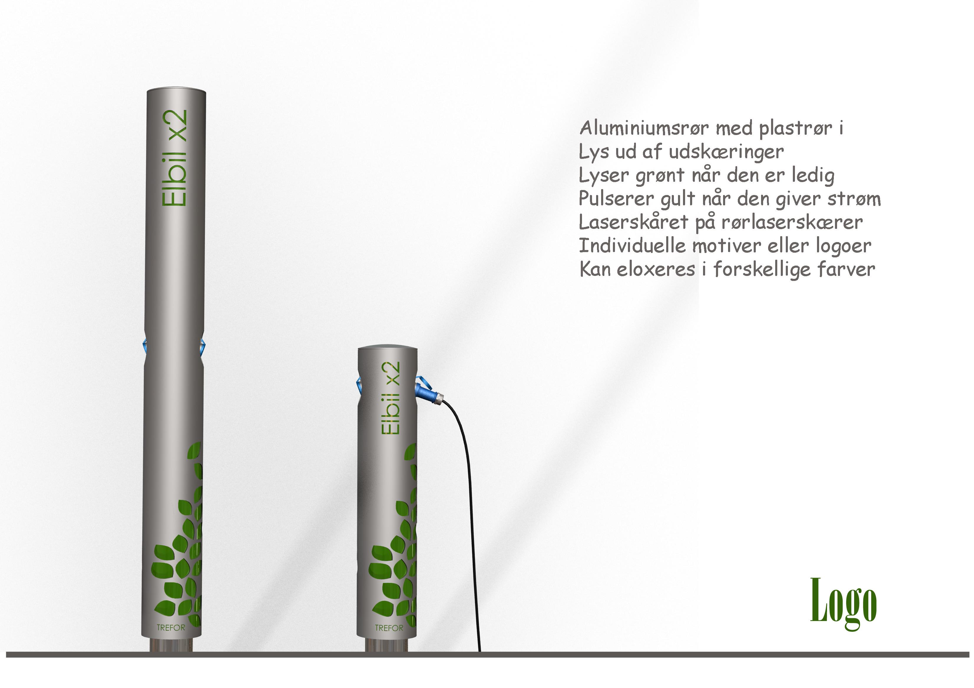Industrielt Design og produktudvikling af Kent Laursen Elbil ladestander 2