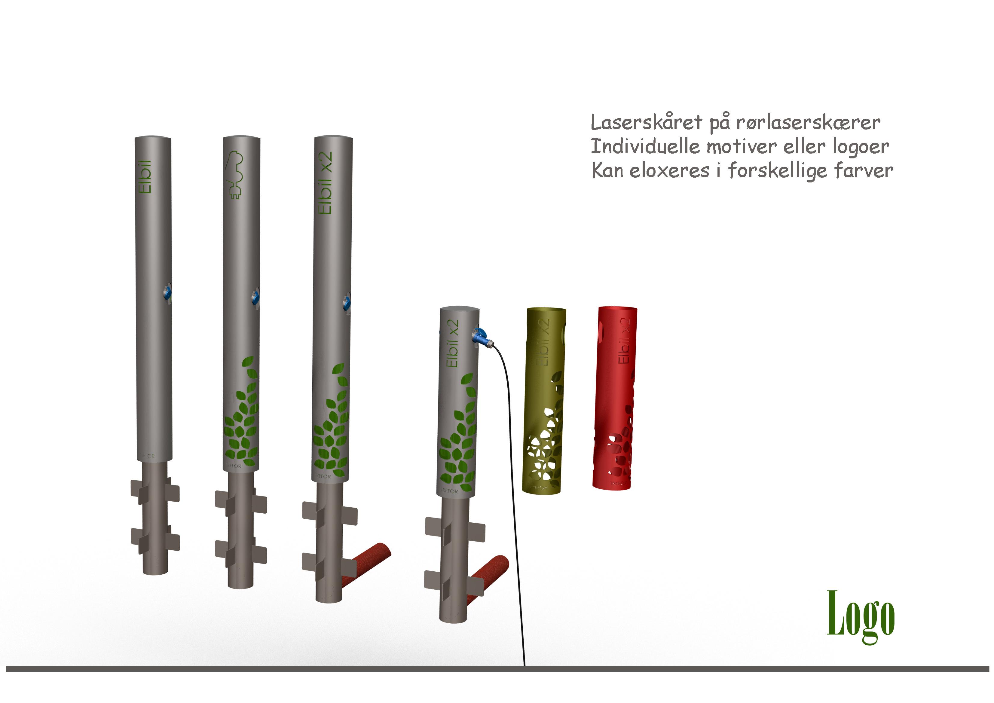 Industrielt Design og produktudvikling af Kent Laursen Elbil ladestander 1