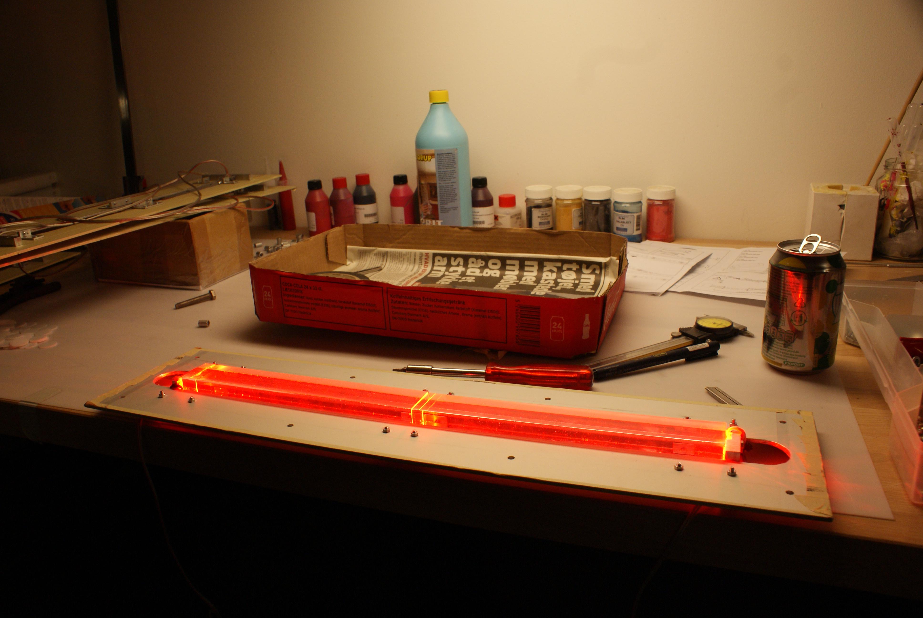 Prototyper af belysningsarmaturer Industrielt Design og belysnings konstruktion 2