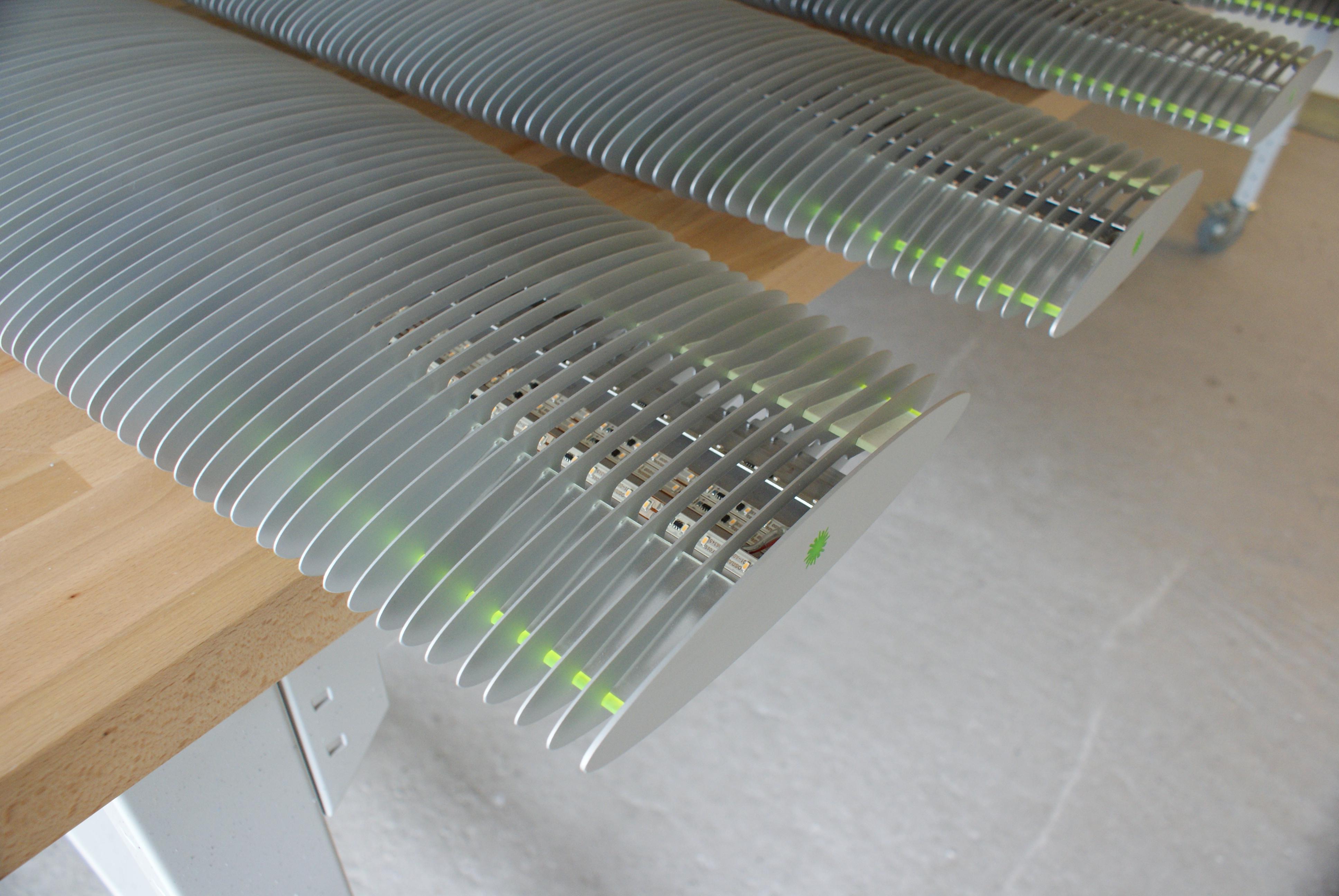 Prototyper af belysningsarmaturer Designafdelingen.dk 6 Industrielt design og lysarmatur udvikling