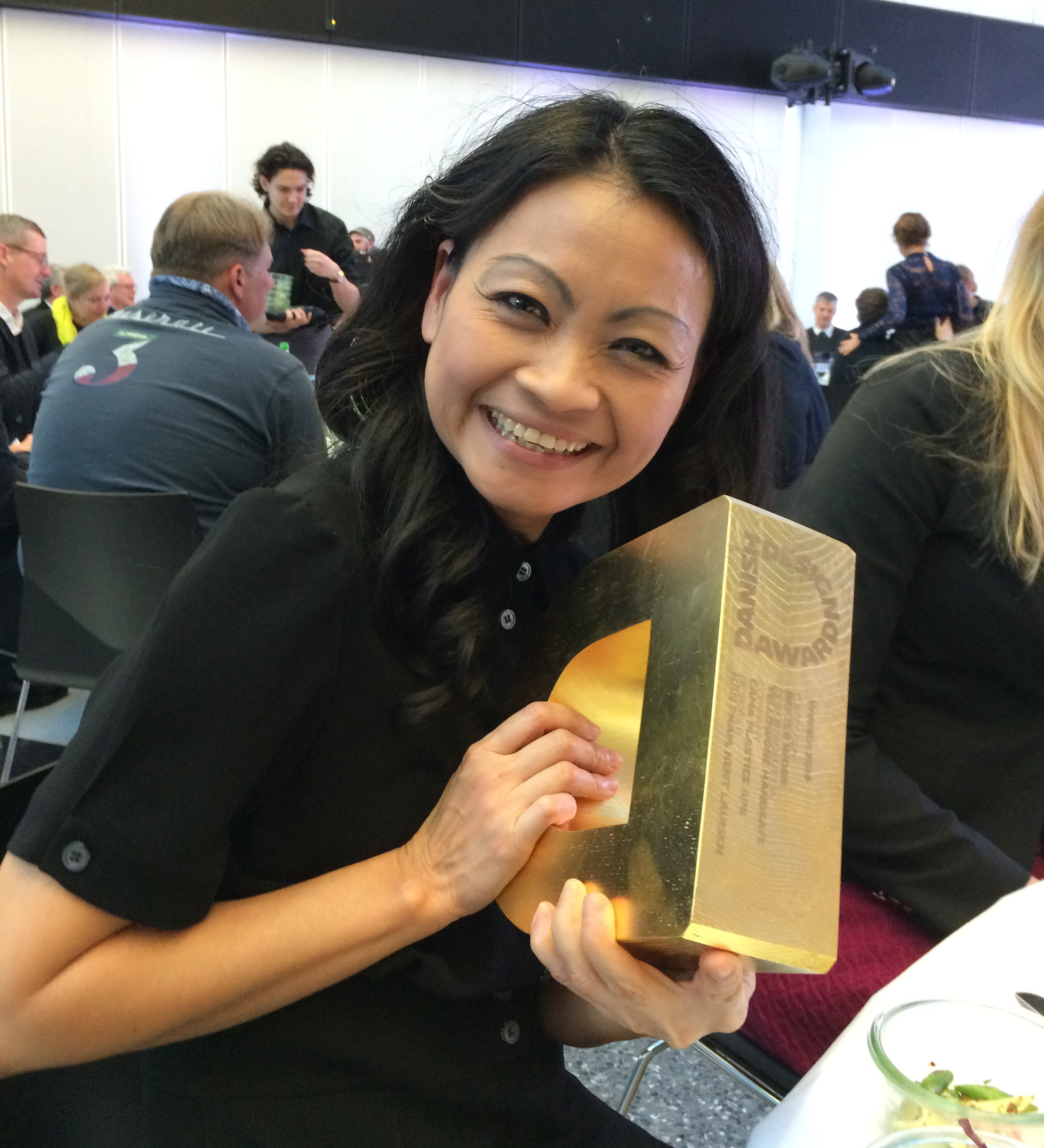 Han Pham with The Danish Design Award 2016