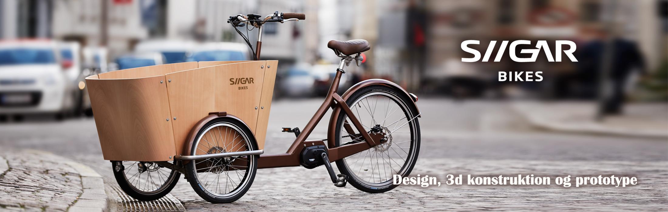 SIIGAR Ladcykel-design-konstruktion-produktudvikling-Kent Laursen Industrielt Design