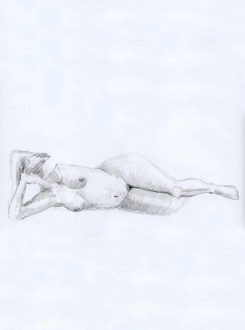 Illustration Croquis Kent Laursen eksperimenter og teknikker blyant