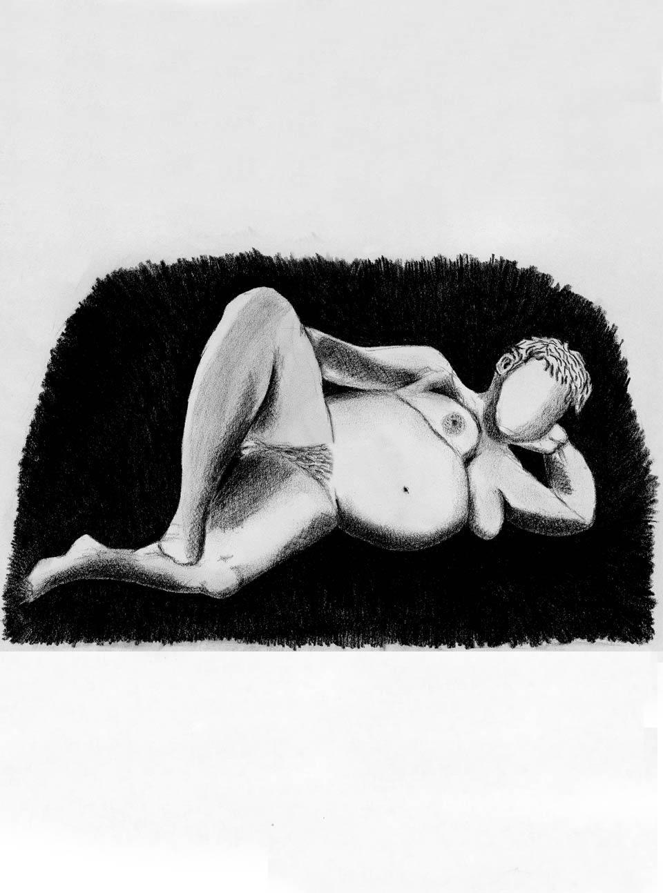 Illustration Croquis Kent Laursen eksperimenter og teknikker --
