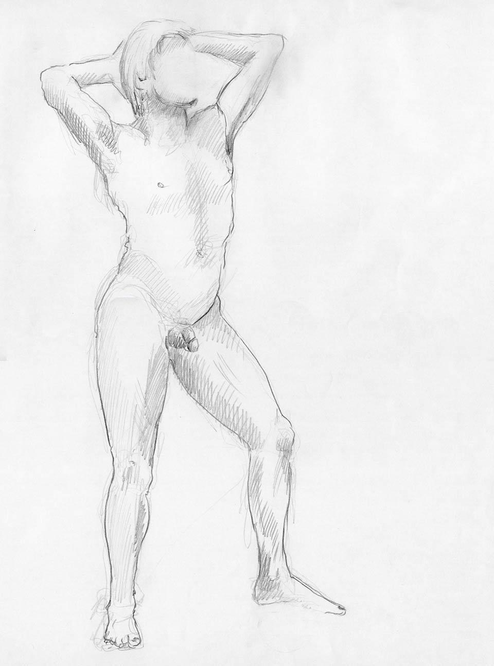 Illustration Croquis Kent Laursen eksperimenter og teknikker 7