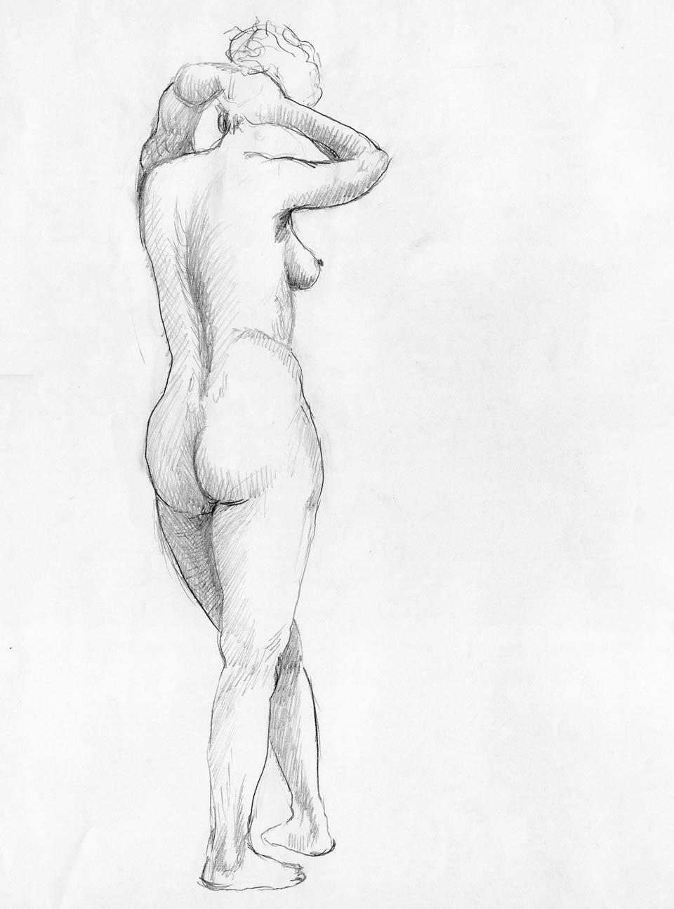 Illustration Croquis Kent Laursen eksperimenter og teknikker 6