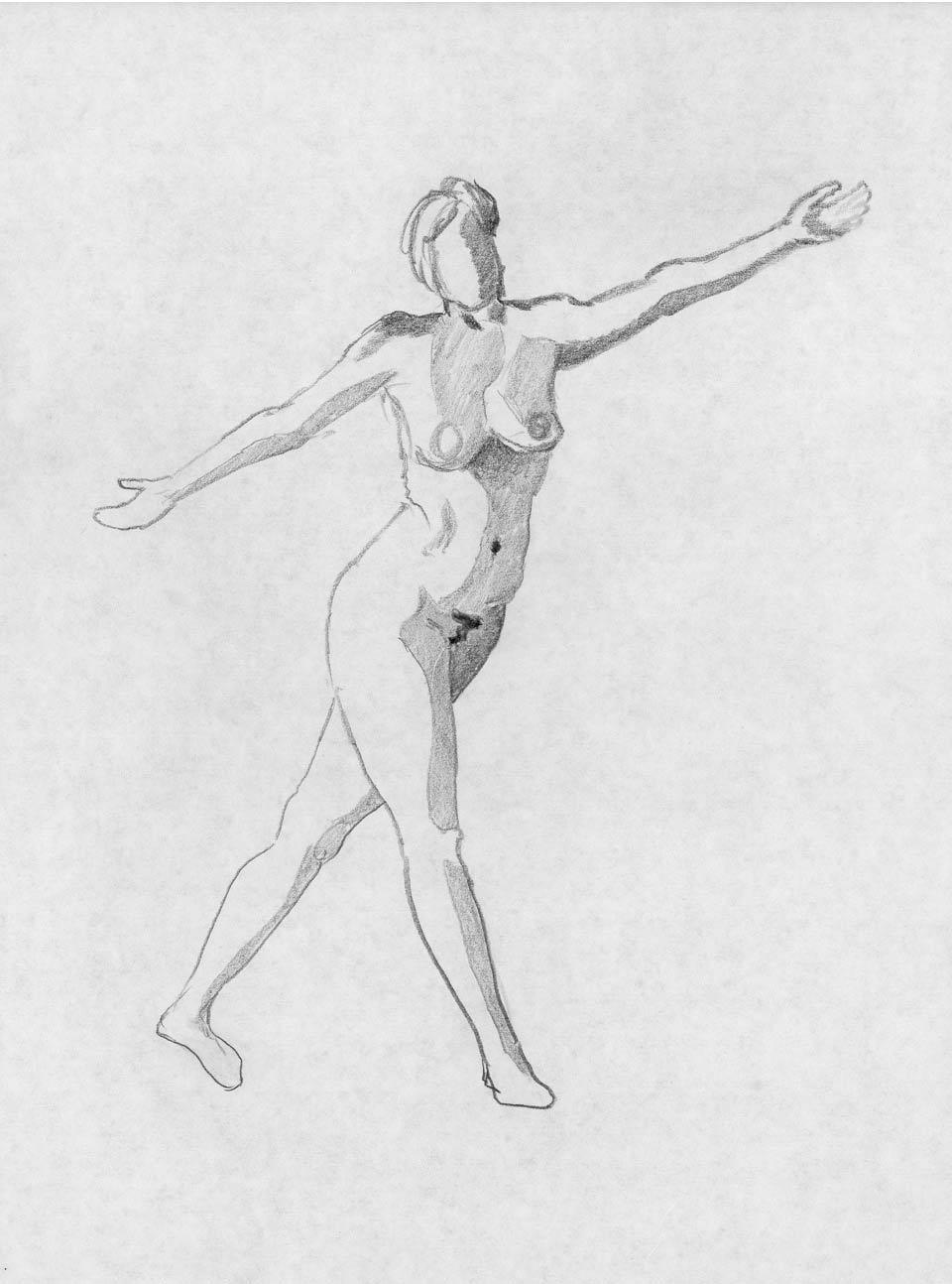Illustration Croquis Kent Laursen eksperimenter og teknikker 99
