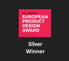 EPDA-2017-Silver-Winner EPDA-2017 european Product Design Award Kent Laursen Han Pham