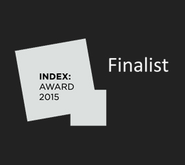 Index award 2015 Finalist Kent Laursen Han Pham
