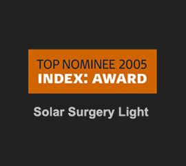 Index award 2005 Solar Surgery Light topnominee Kent Laursen