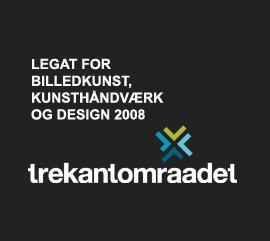 Trekantsområdet Tegat for Billdekunst, kunsthåndværk og design 2008 til Kent Laursen
