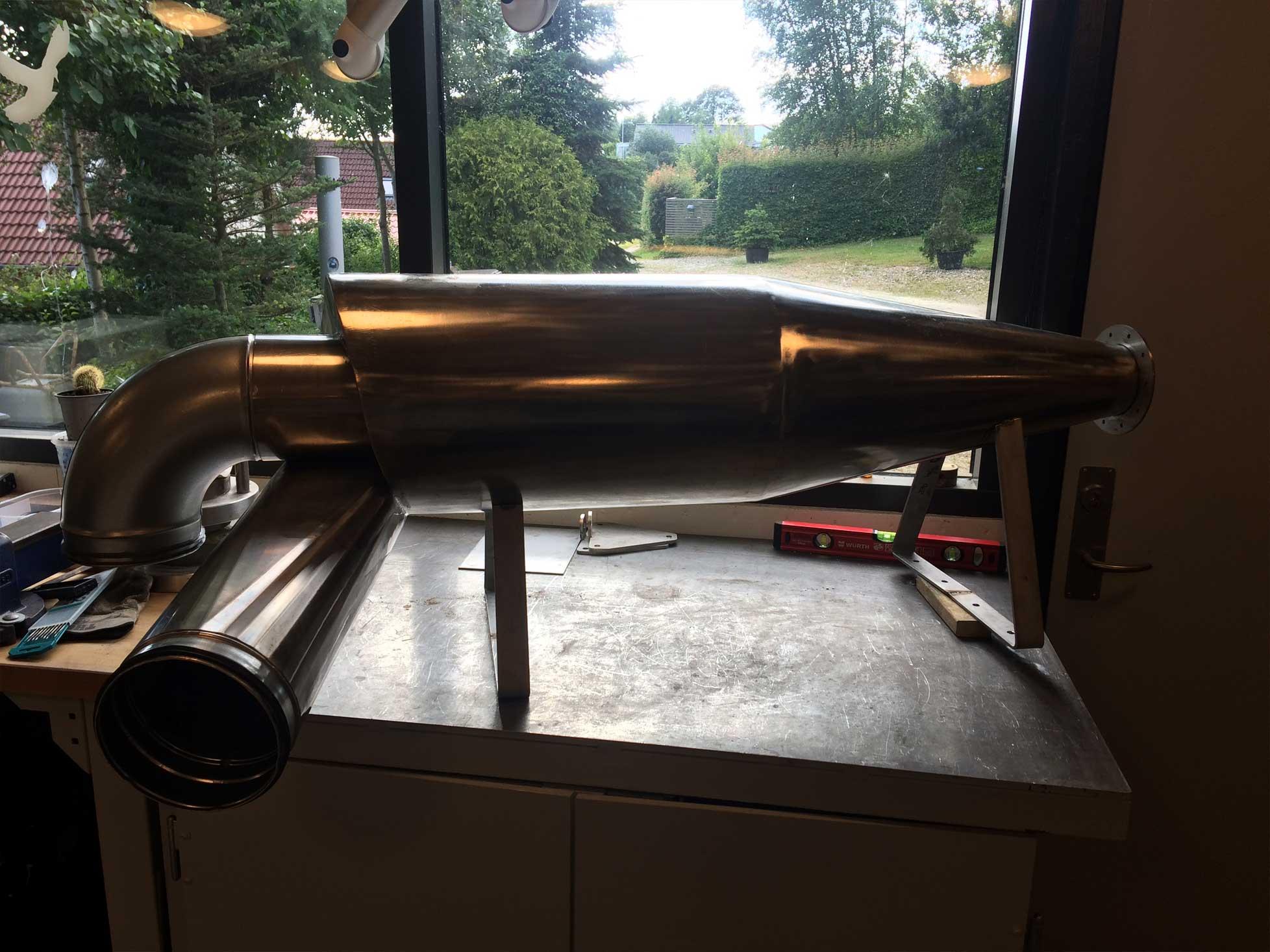 Produktudvikling af prototype af cyklon til støv og spån udsugning