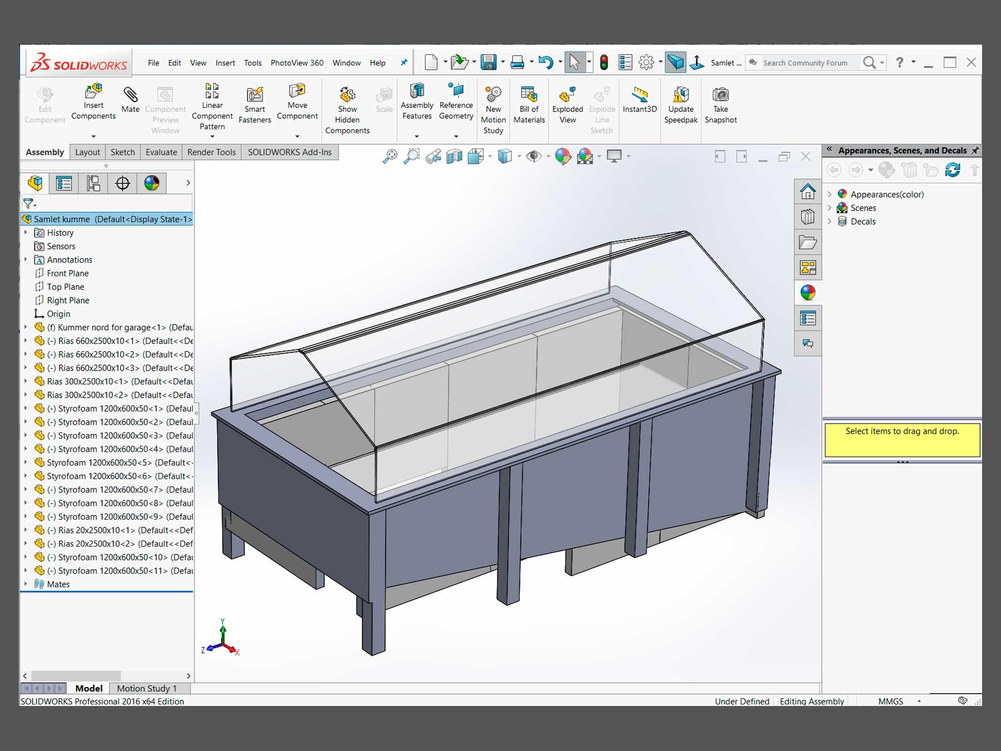 Produktudvikling af prototype støv og spån udsugning 2