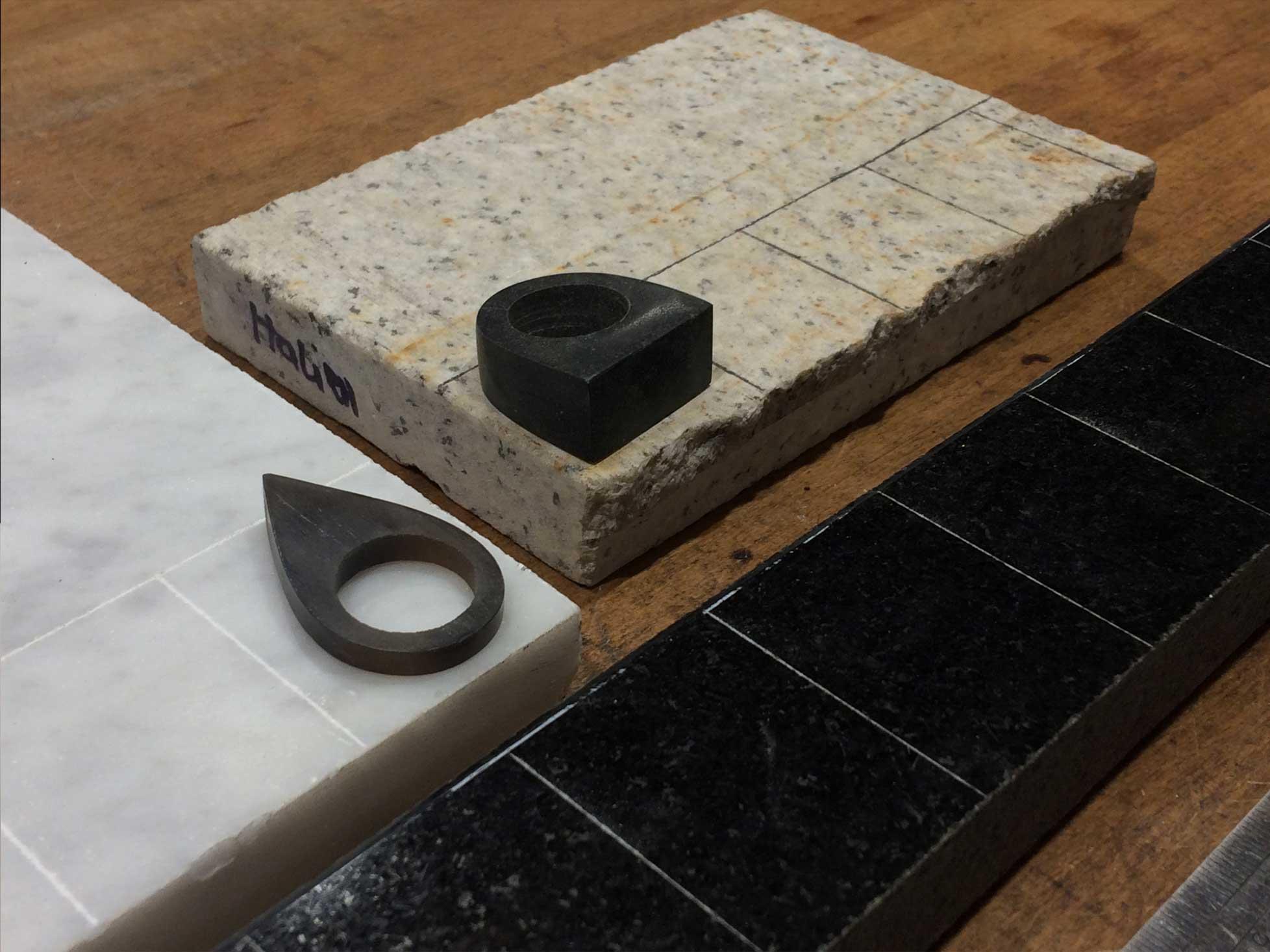 Produktudvikling og Industrielt Design Fremstilling af prototyper af smykker i sten og ædelsten 3