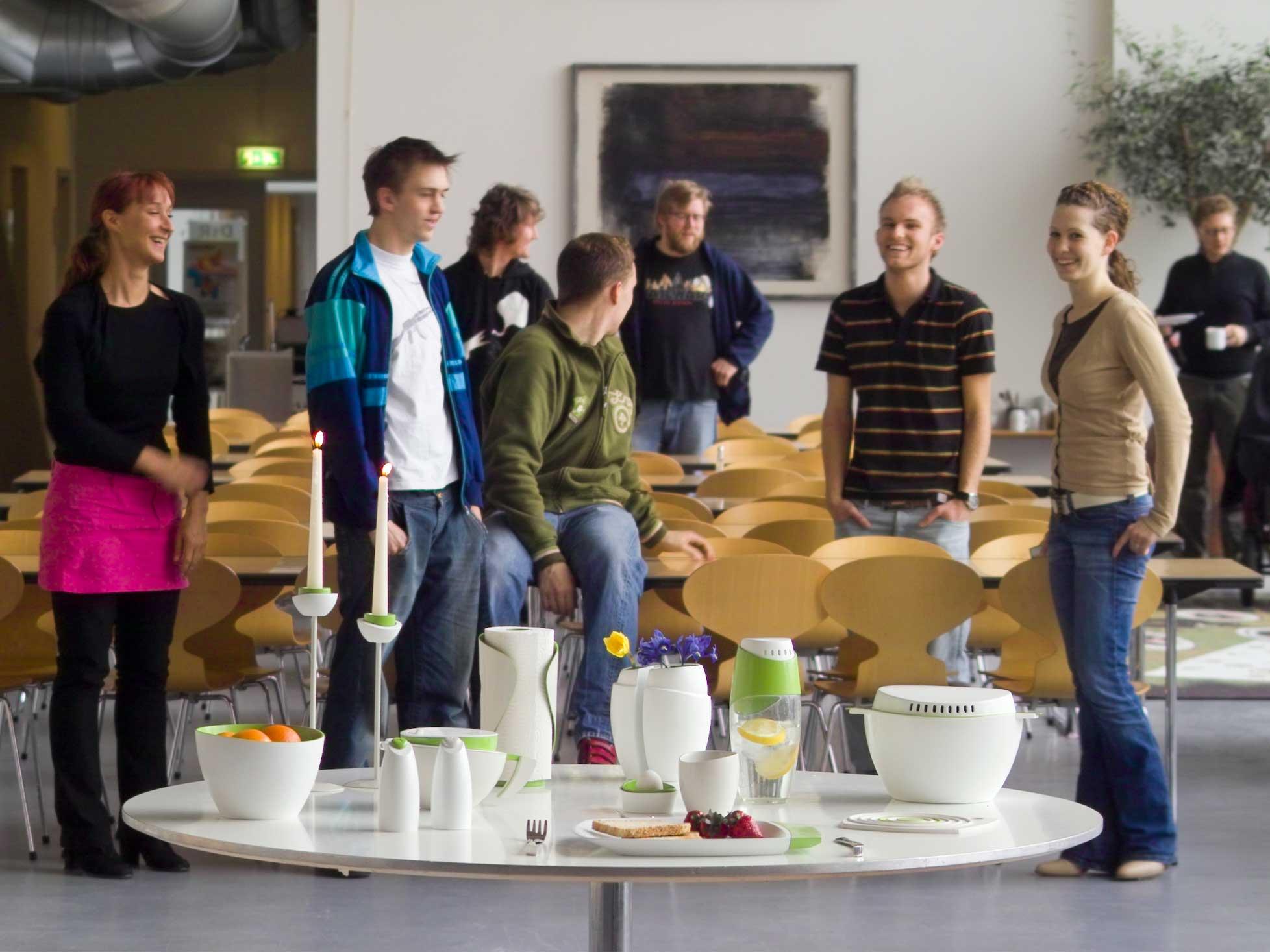 Designskolen Kolding Kent Laursens studerendes kursus resultater Formgivningsprojekt.